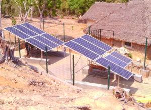 Centrale solaire d'Anjanozano
