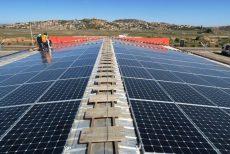 centrale solaire sur toiture